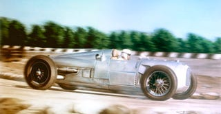 Illustration for article titled All Silver Arrows, all the time