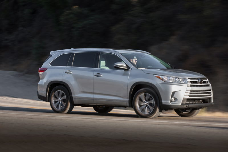 Illustration for article titled Crossed the Toyota highlander off the list