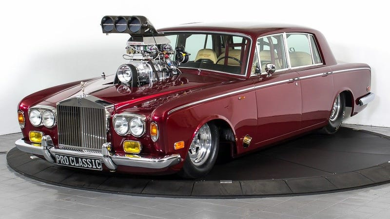 Illustration for article titled I Would Buy This Modified 1974 Rolls-Royce Silver Shadow For $113,000, Sure