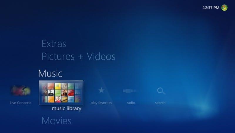 Step Two Install Windows Media Center
