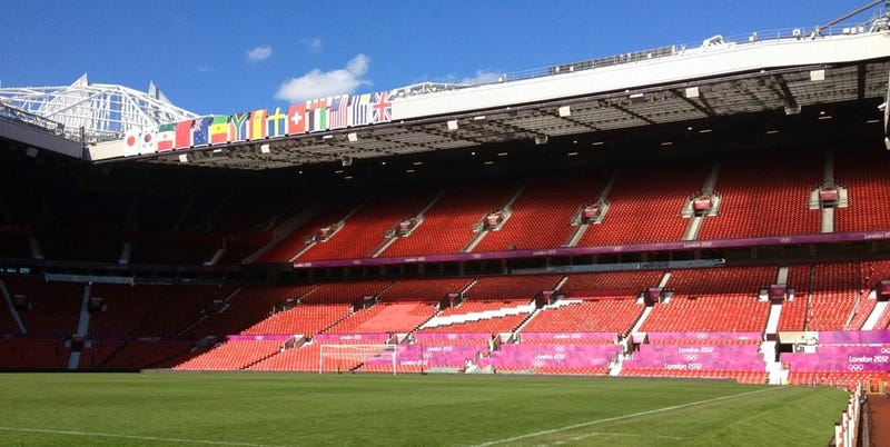Illustration for article titled Olympics Protect Their Sponsors By Covering Up Some White Seats At Old Trafford