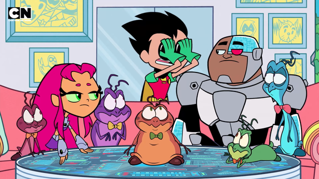 Teen Titans Go Will Watch the Original Space Jam Movie, MST3K Style