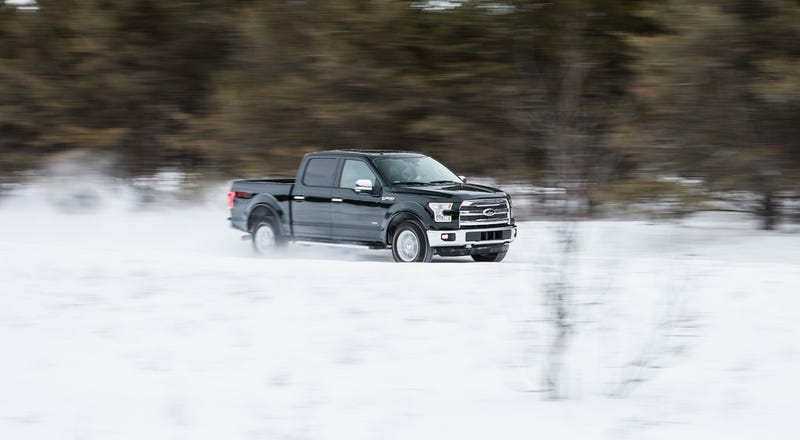 Illustration for article titled 2015 Sno*Drift in a 2015 Ford F150