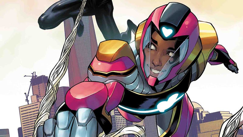 Riri Williams and Miles Morales team up in this Ironheart #6 exclusive