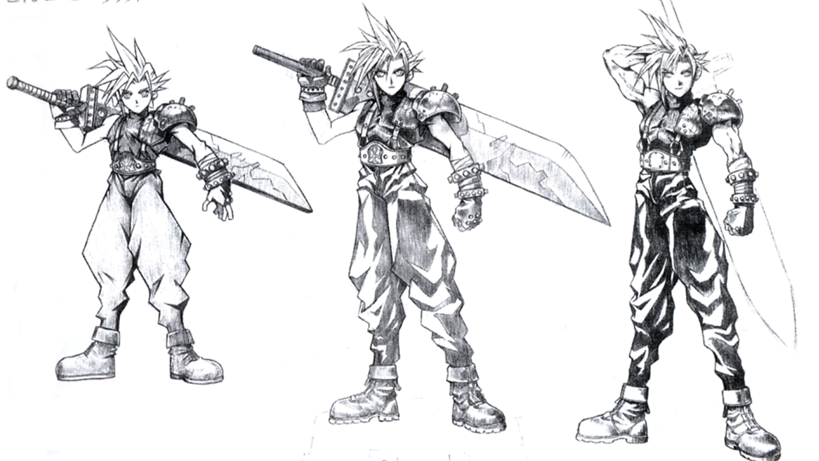 The Iconic Final Fantasy Art Of