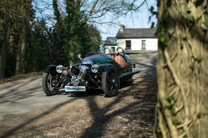 Illustration for article titled 2014 Morgan 3 Wheeler Review