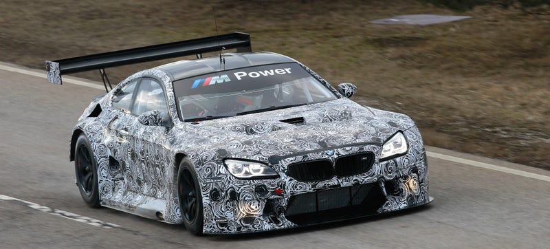 Illustration for article titled This Sticker Is Dangerous And Inconvenient, But I Do Love The BMW M6 GT3