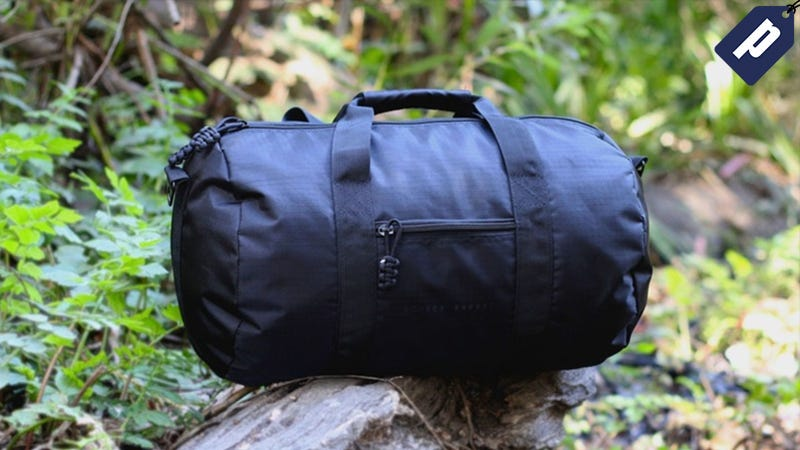Illustration for article titled Last Chance: Save Over 70% On The Bomber Barrel Duffle Bag Complete Set