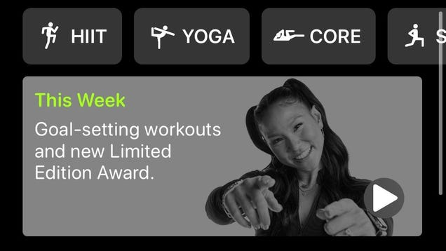 Apple, This Isn t What I Meant When I Said Fitness+ Needs Goals