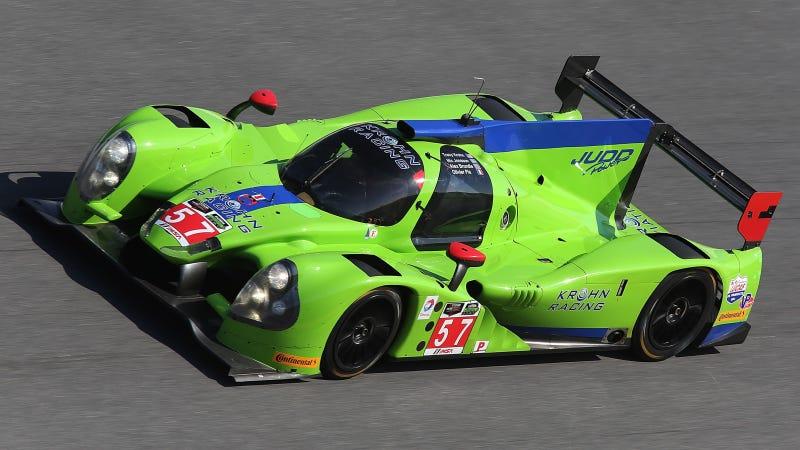 Illustration for article titled World's Greenest Car Wins Pole For 12 Hours Of Sebring