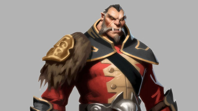 Illustration for article titled DOTA 2's Idea of Valentine's Day is New Character Art