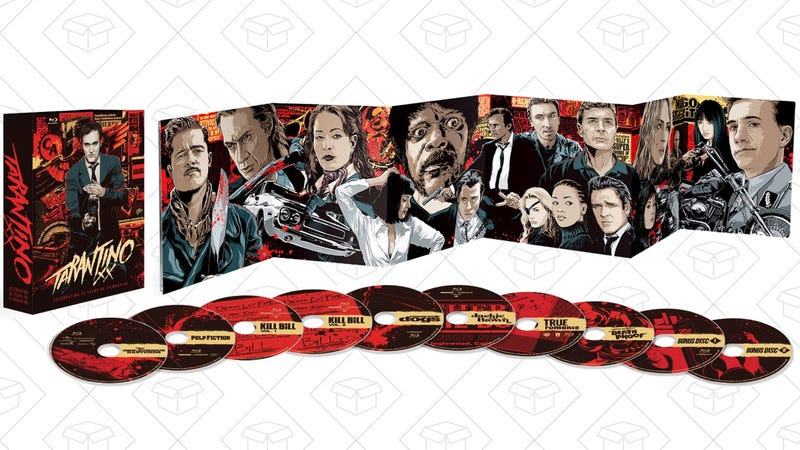 Tarantino XX: 8-Film Collection, $55 for Prime Members
