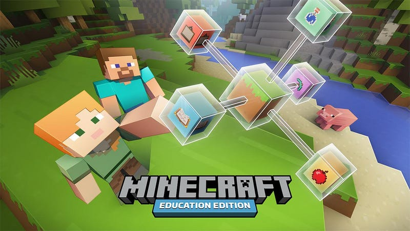 Illustration for article titled Microsoft and Mojang Announce Minecraft: Education Edition