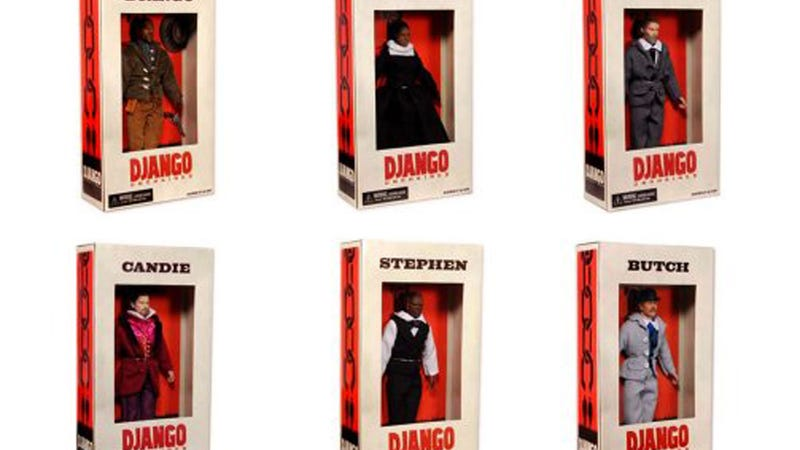 Illustration for article titled Who the Hell Collects These Django Unchained Slave Action Figures?