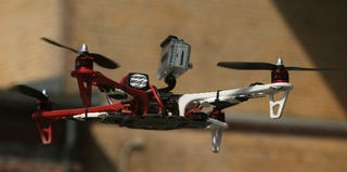 A quadrocopter drone in Berlin (Sean Gallup/Getty Images)