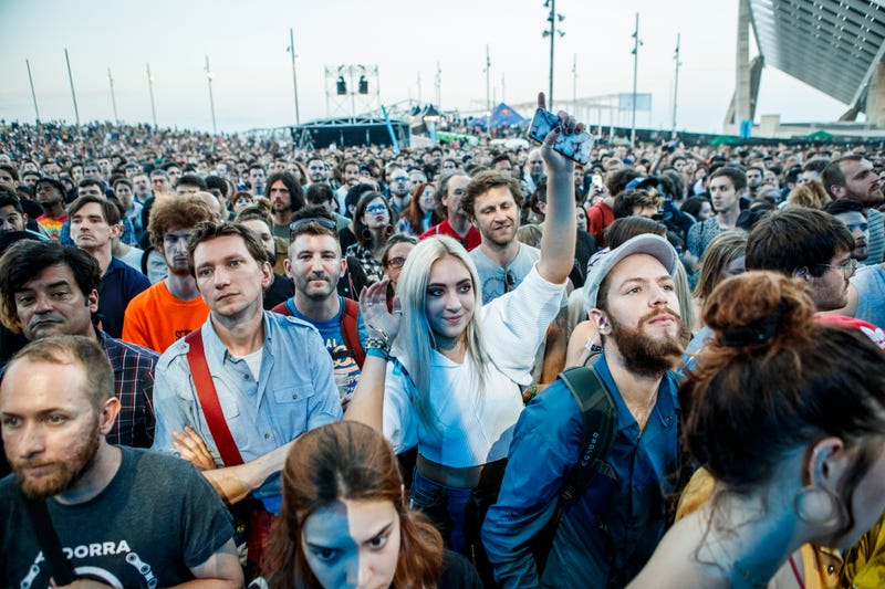 A view of the crowd during day one of Primavera Sound Festival 2018. (Photo: Xavi Torrent/WireImage via Getty Images)