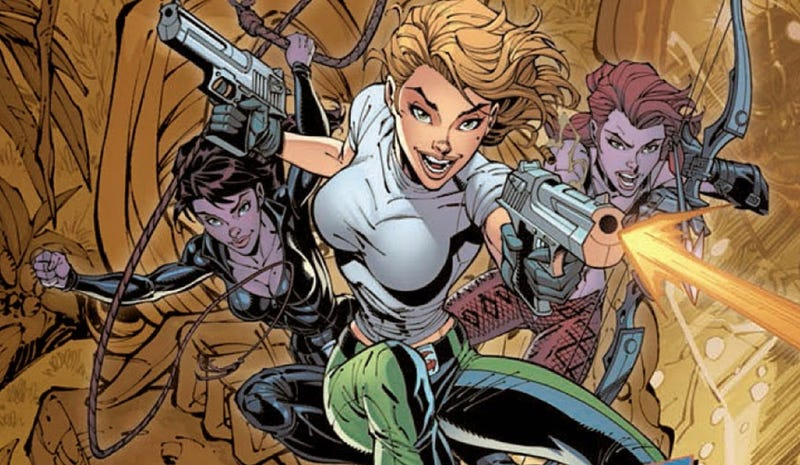 The super spies of Danger Girl may be coming to the big screen.