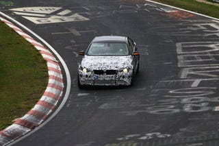 Illustration for article titled 2011 BMW M5: Spy Photos