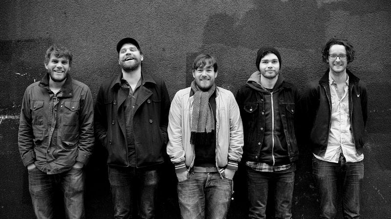 """Illustration for article titled Frightened Rabbit claims to be """"Dead Now,"""" but the song proves otherwise"""