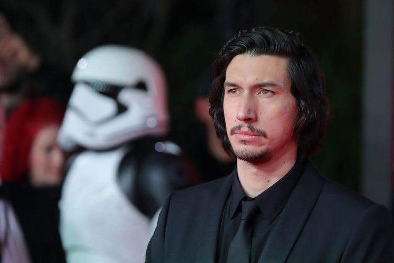 Shirted Kylo Ren. (Photo: Daniel Leal-Olivas/Getty Images)