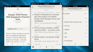 Illustration for article titled Reeder 2 Brings Back iPad Compatibility, Support for Feedly, and More
