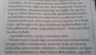 Illustration for article titled A nap vezércikke: Böde Dániel a magyar futball Mauglija
