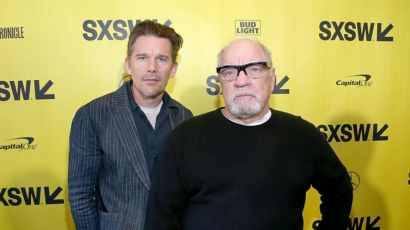 Ethan Hawke and Paul Schrader