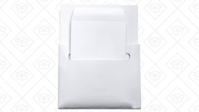 Give Your Thank You Letters an Added Dimension With Ghost Paper's Embossed Line Stationary -