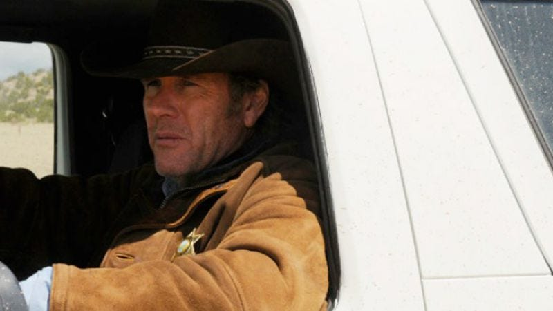 """Illustration for article titled Longmire: """"The Dark Road"""""""