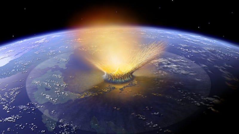Illustration for article titled Este astrofísico cree que el Planeta X mató a los dinosaurios (y su teoría tiene sentido)
