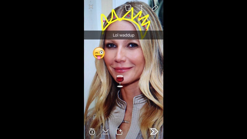 Illustration for article titled Finally, Gwyneth Paltrow Is Bringing Goop to Snapchat