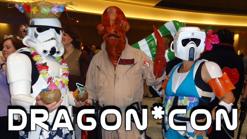 Illustration for article titled All the Coolest Costumes and Props We Saw at Dragon*Con!