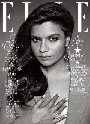 Illustration for article titled Let's Talk About Elle's Mindy Kaling Cover