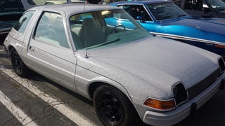 A 'Wheeler Dealers' car was at Cars & Coffee