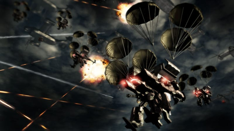Illustration for article titled We Got Armored Core V Screens Incoming!