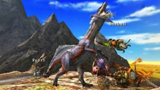Illustration for article titled Monster Hunter 4 Ultimate Focuses on More than Ground-Level
