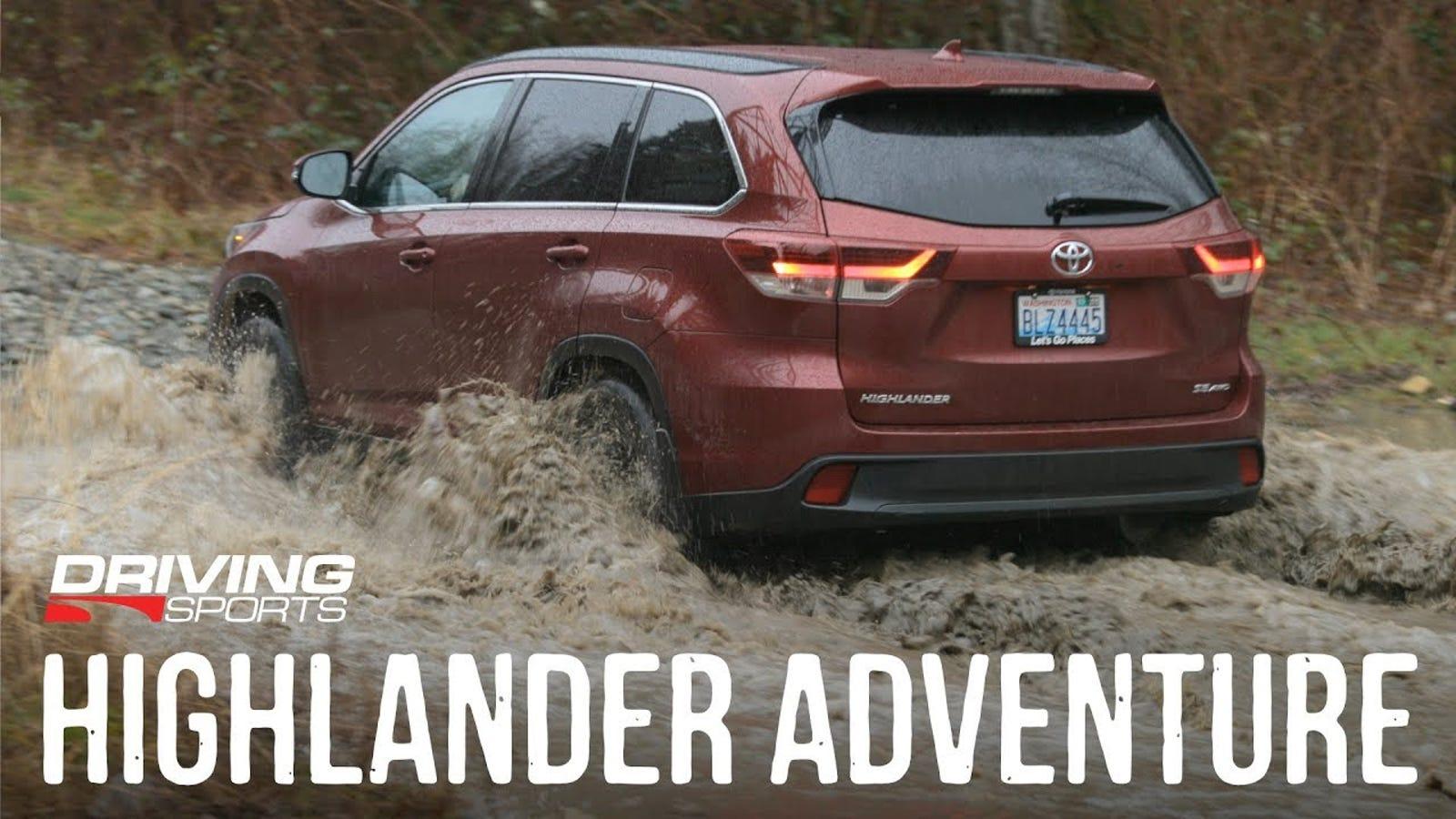 Toyota Highlander Vs Honda Pilot >> 2019 Toyota Highlander vs. Mud, Snow, Road