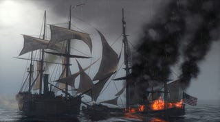 Illustration for article titled By Land And Sea, New Empire: Total War Screens
