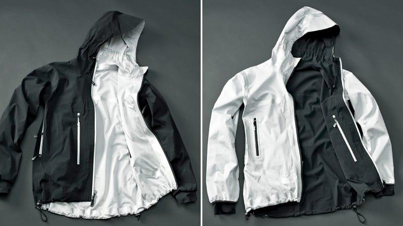 Illustration for article titled All-Season Jacket Turns Inside-Out To Keep You Warm Or Cool