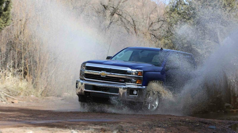 Illustration for article titled Yes, You Can Off-Road The 2015 Chevy Silverado 2500 Z71