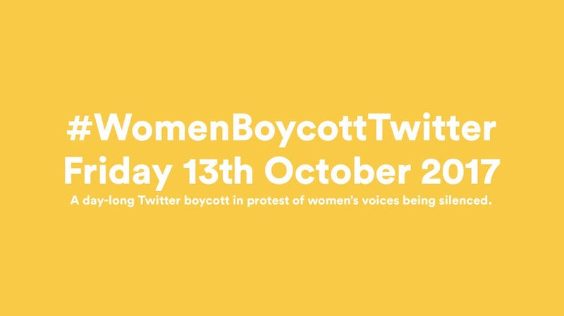 Illustration for article titled Twitter Boycott for Friday October 13th