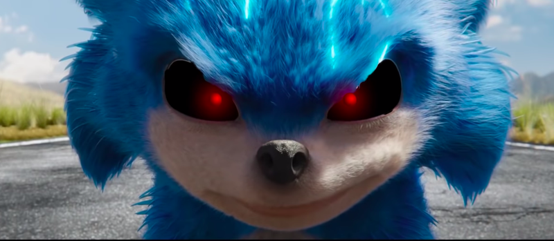 Illustration for article titled It doesn't take much to turn the Sonic The Hedgehog trailer into a horror movie