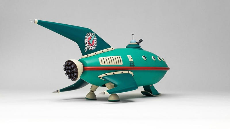 Illustration for article titled Futurama Ship Looks Like CGI, Is Actually Real Model