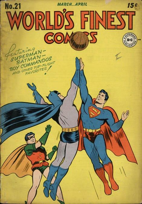 Buddy for ever, a far cry from the weirdos in Batman v. Superman
