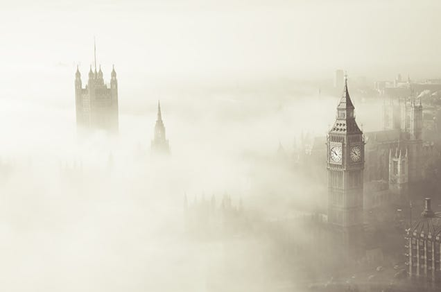 A deadly fog blanketed London in 1952, and chemists have now figured out why. Image: Texas A&M