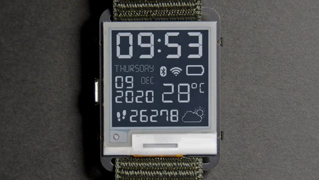 The Watchy Is an Open-Source Smartwatch for Those Who Miss the Pebble