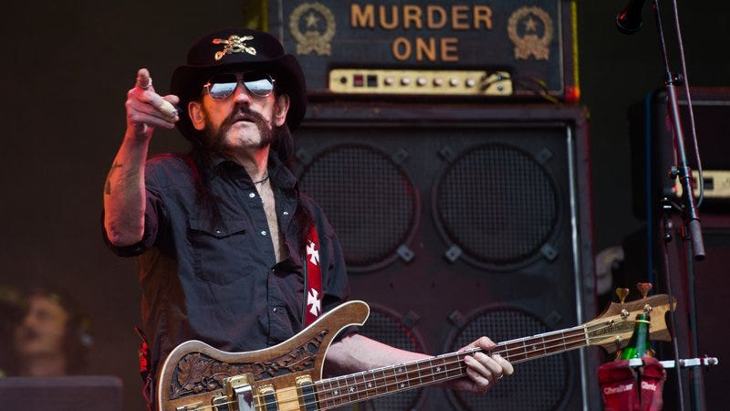 Lemmy covers Bowie in newly unearthed Motörhead track