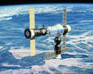 Illustration for article titled This Is Russia's Next Space Station for Tourists