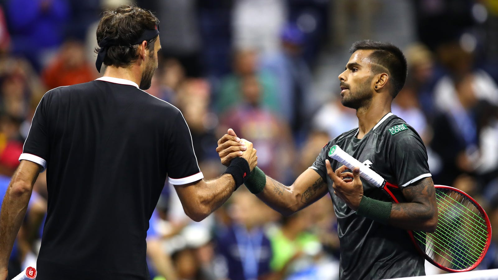 Sumit Nagal, Who Is Not Rafael Nadal, Gave Roger Federer A Brief Scare