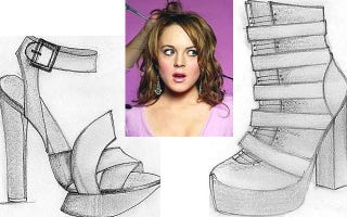 Illustration for article titled Lindsay Lohan Would Like You To Buy Her Shoes For $450